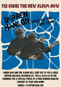 Darren Hanlon - Where did Poster_ORDER ONLINE